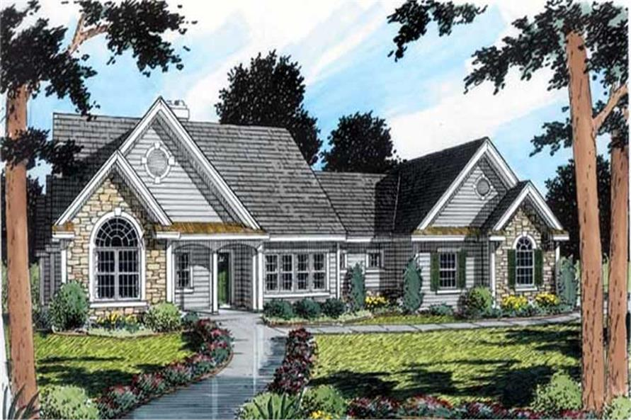 Main image for house plan # 20120