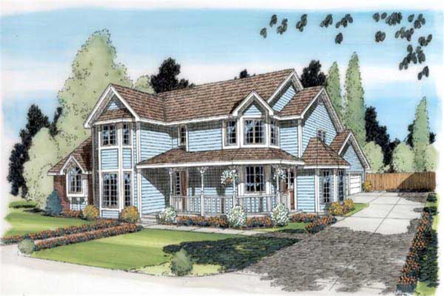 Main image for house plan # 19873