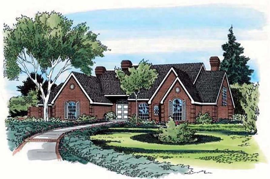 Main image for house plan # 19815