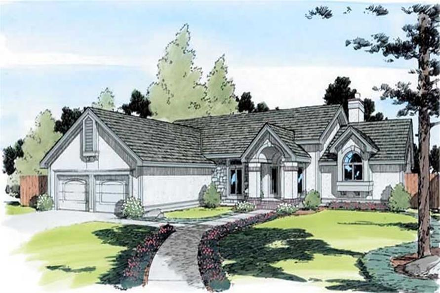 Main image for house plan # 19882