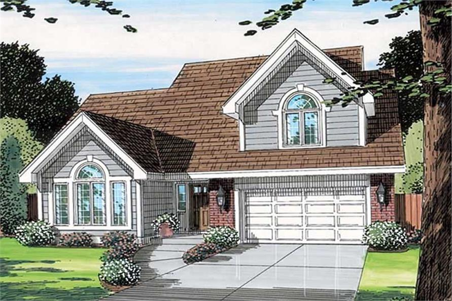 Main image for house plan # 19852