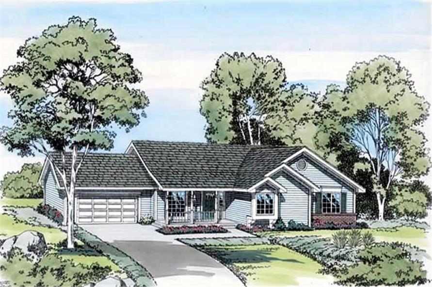 Main image for house plan # 19846