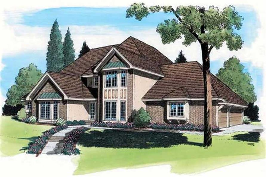 Main image for house plan # 19853