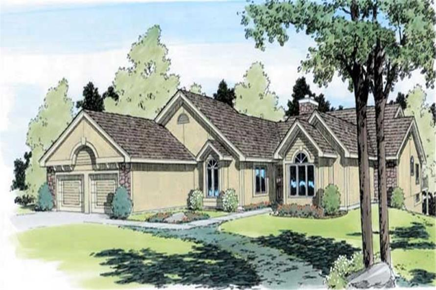 Main image for house plan # 19859