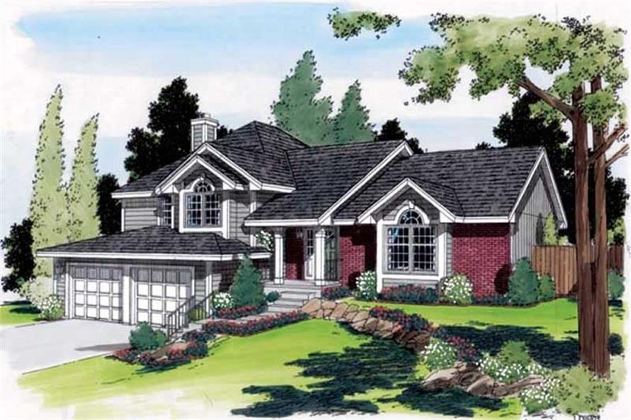 Main image for house plan # 19893