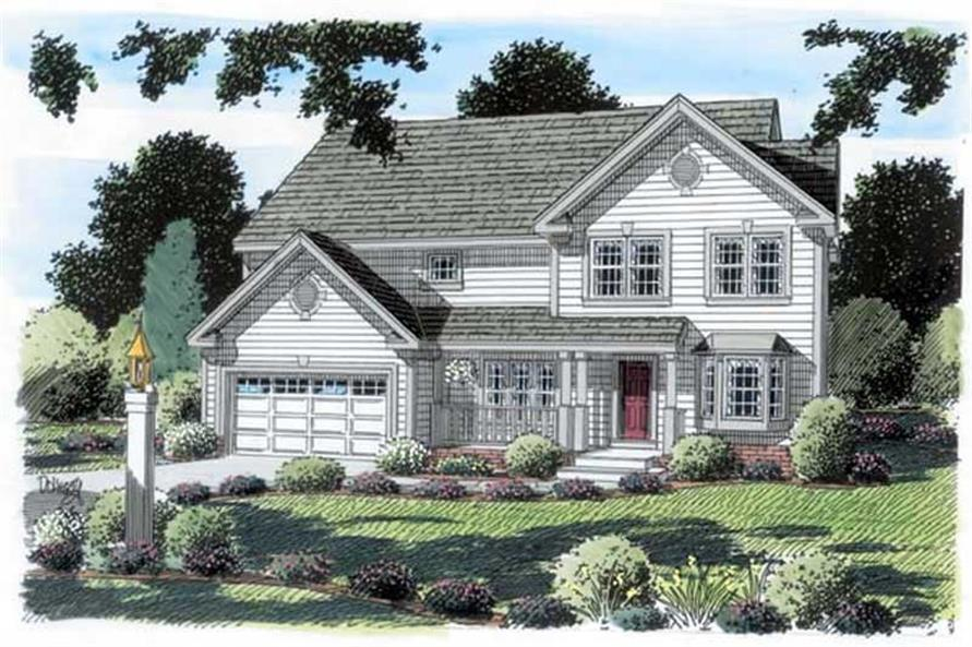 Main image for house plan # 19903