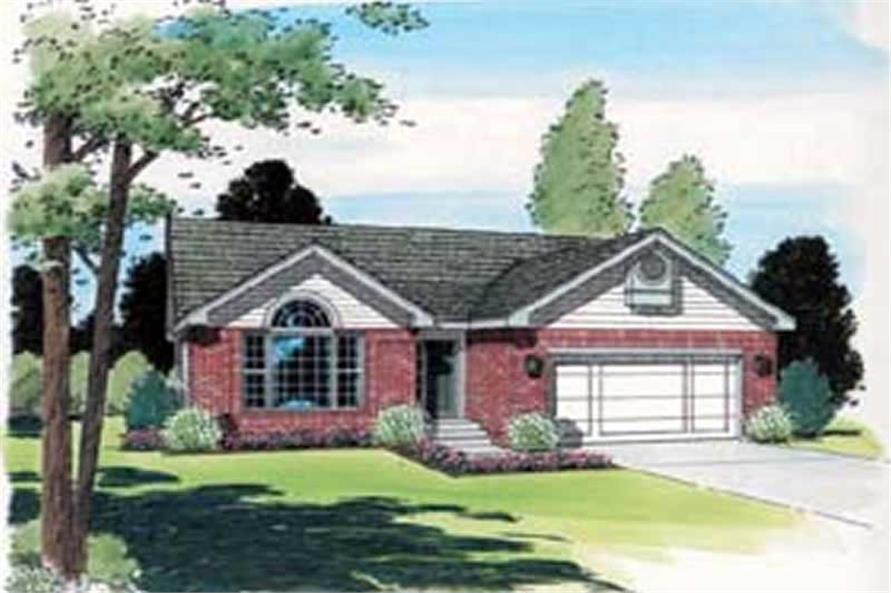 Main image for house plan # 19951