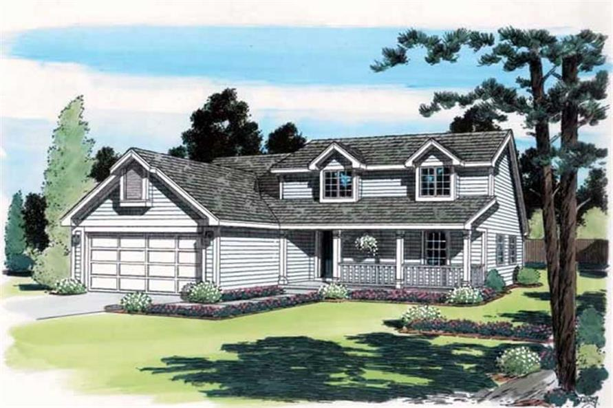 Main image for house plan # 19948