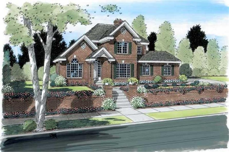 Main image for house plan # 20070