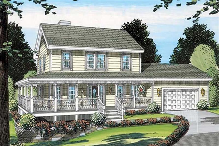 Main image for house plan # 19952
