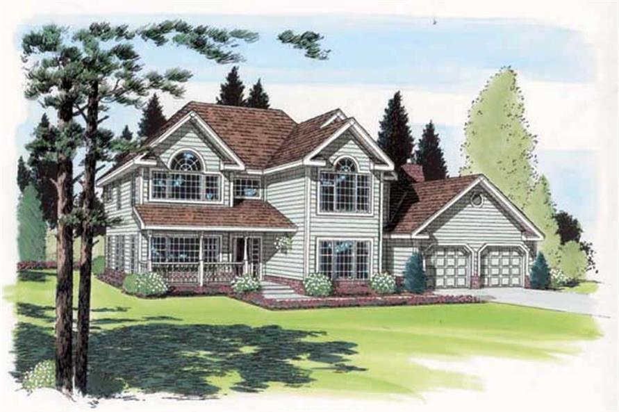 Main image for house plan # 19954