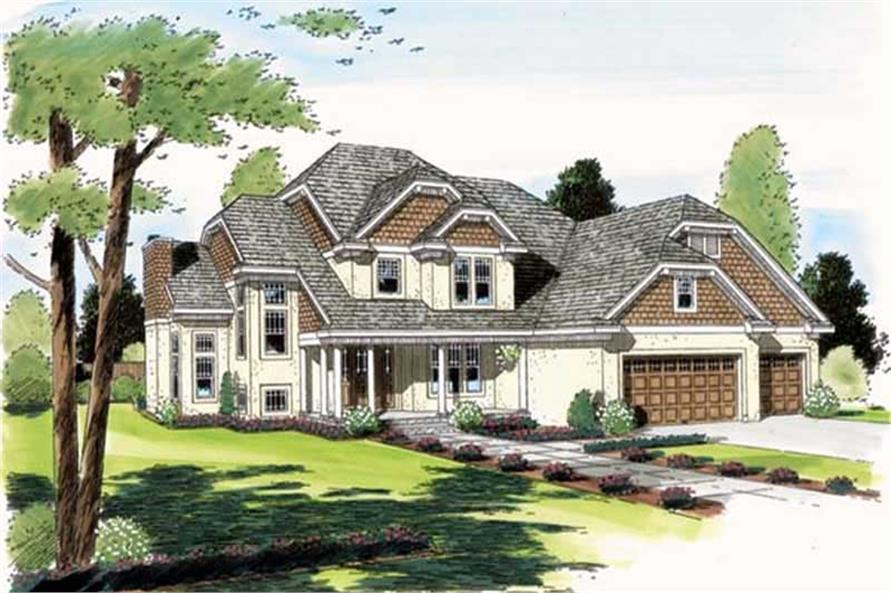 Main image for house plan # 20001