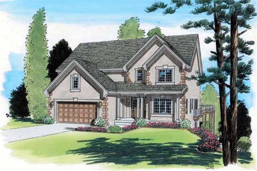 Main image for house plan # 20024