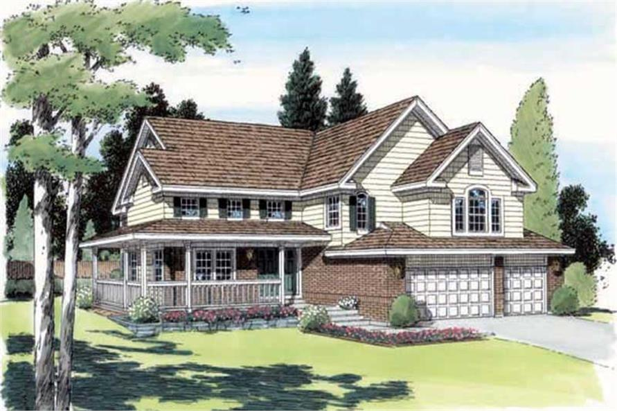Main image for house plan # 19932