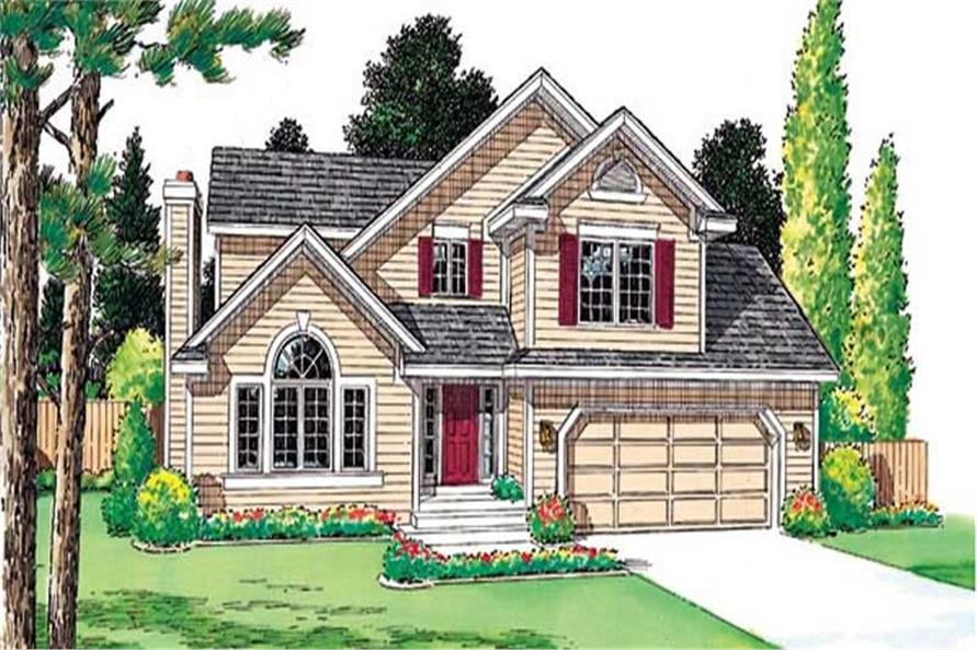 Main image for house plan # 20039