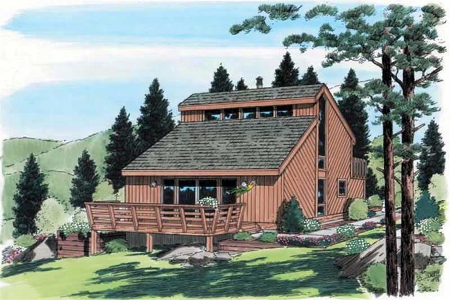 Main image for house plan # 19945