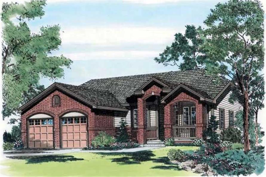 Main image for house plan # 19933