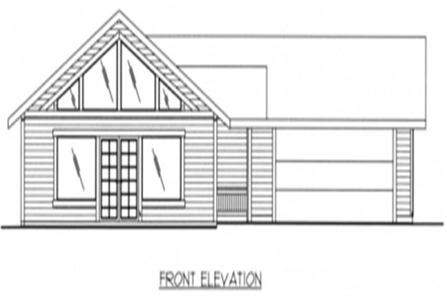 132-1047 rear elevation