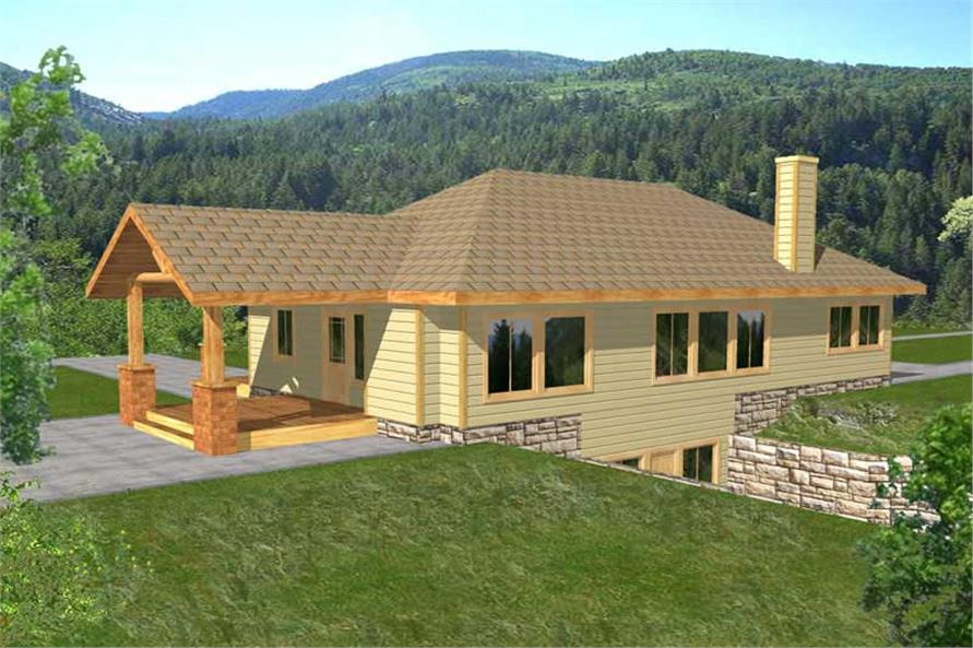 Main image for house plan # 9765