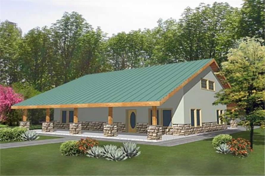 Main image for house plan # 15626