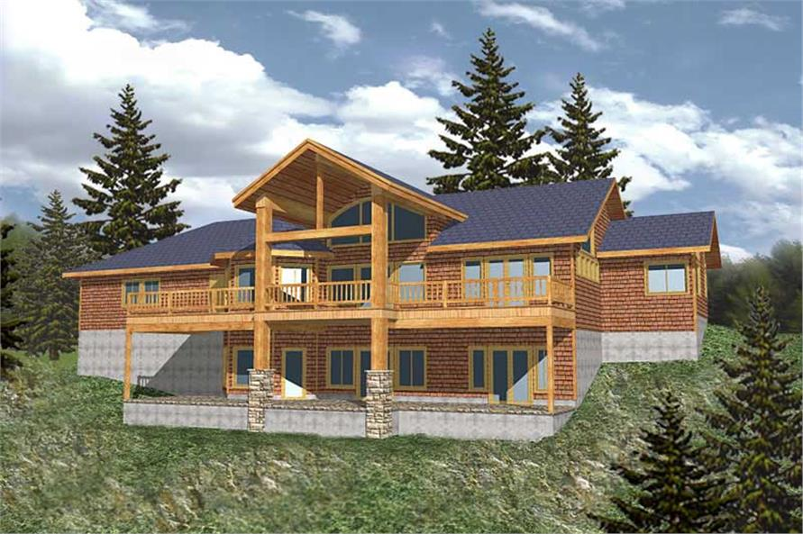 Main image for house plan # 9752