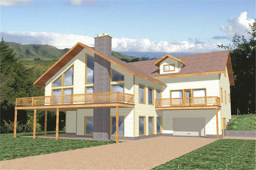 Main image for house plan # 9397