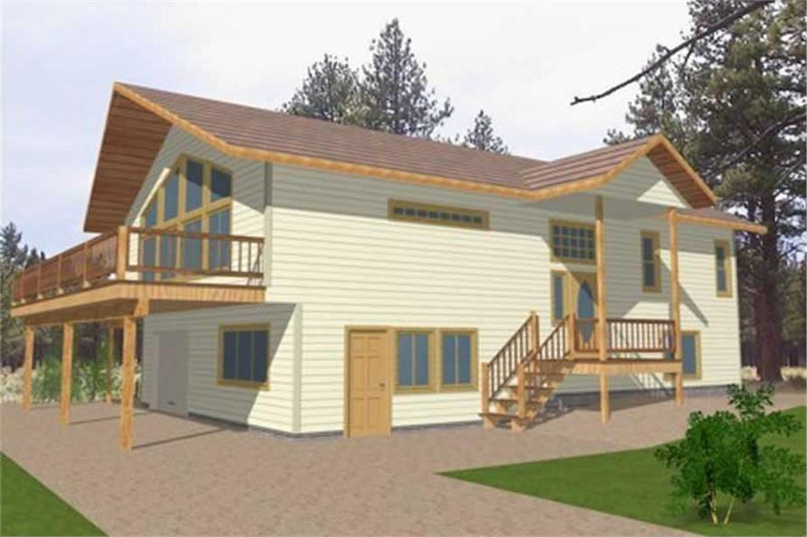 Main image for house plan # 15577