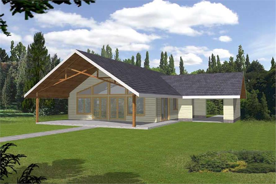 Main image for house plan # 15604