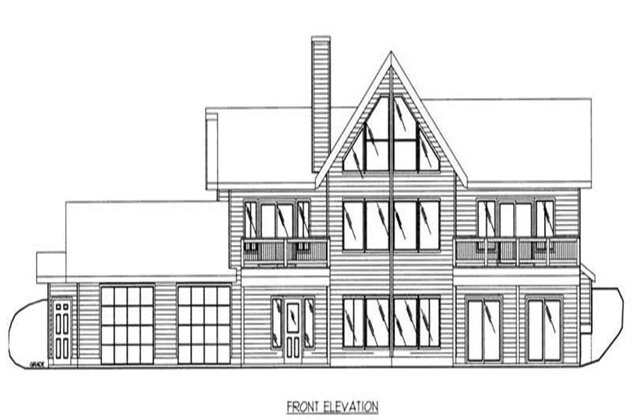House Plan #132-1202