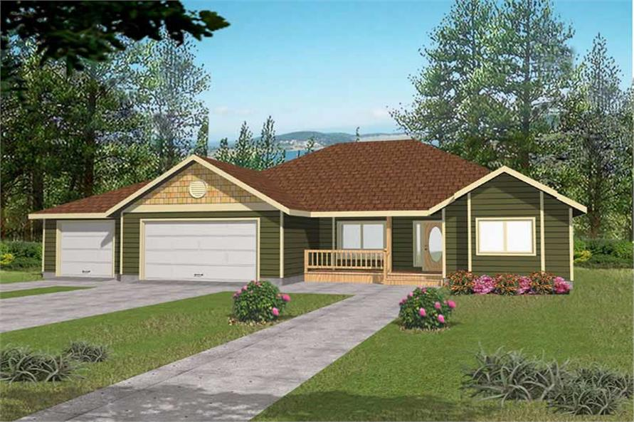 Main image for house plan # 15593