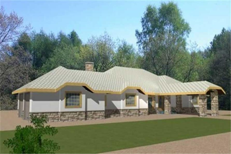 Main image for house plan # 9427