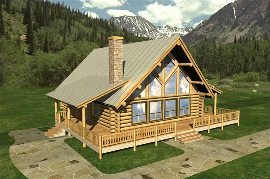 Main image for Log Cabins # 9205