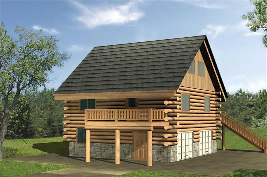 Main image for house plan # 17292
