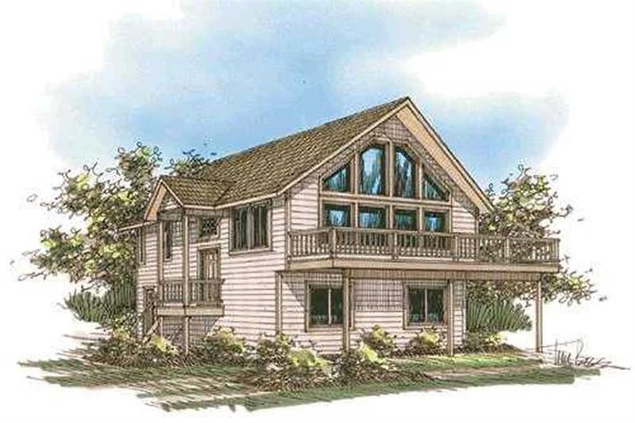 Main image for house plan # 15636