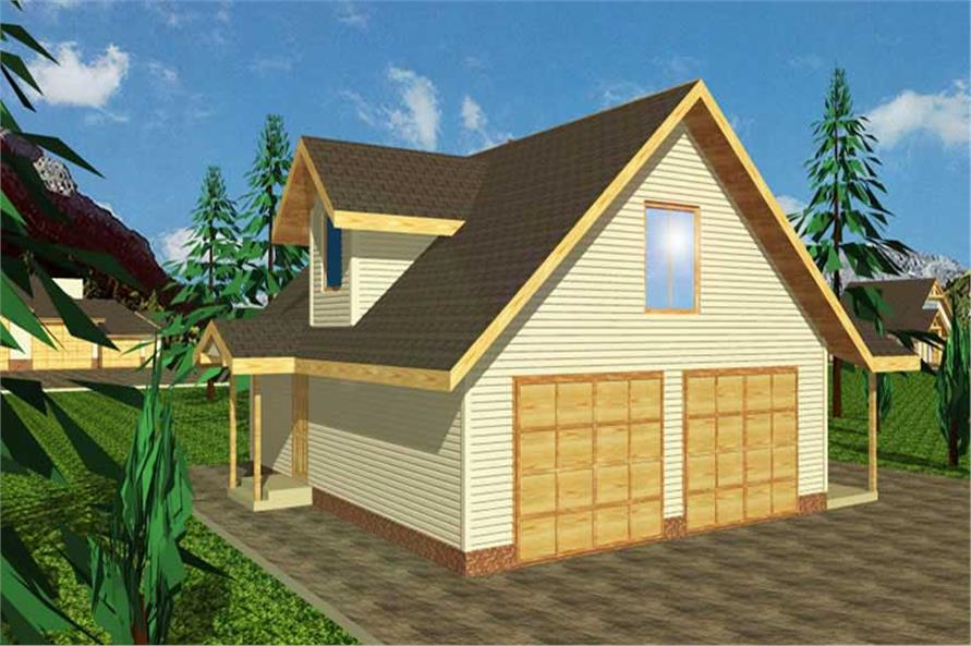 Main image for house plan # 9448