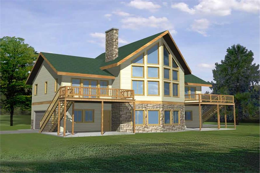 Main image for house plan # 9443