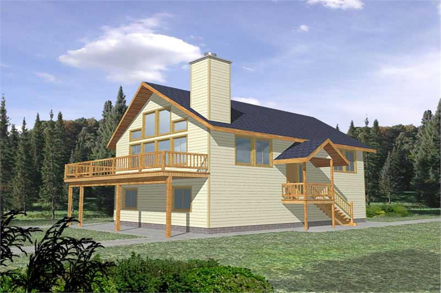 Main image for house plan # 9735
