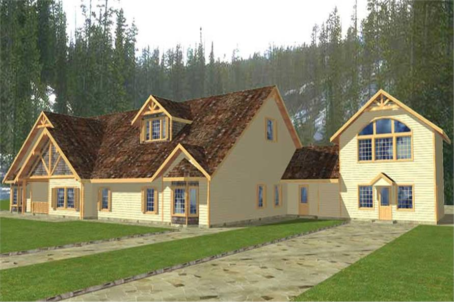 Main image for house plan # 9466