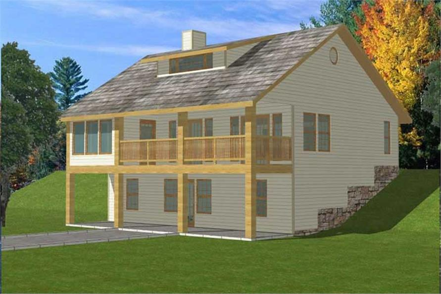 Main image for house plan # 9744