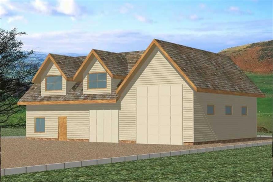 Main image for house plan # 9771