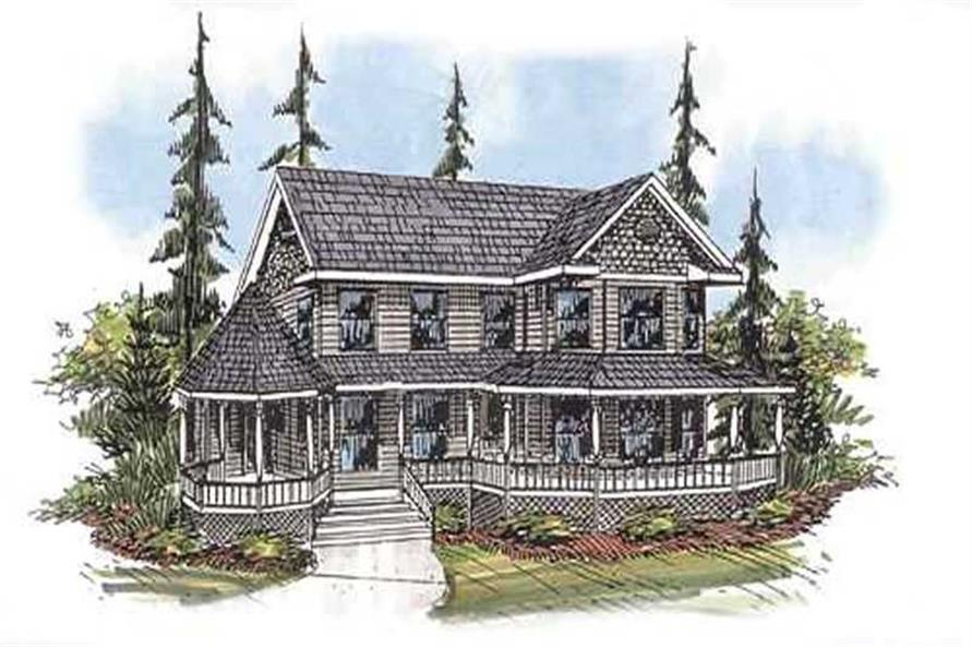 Main image for house plan # 9392