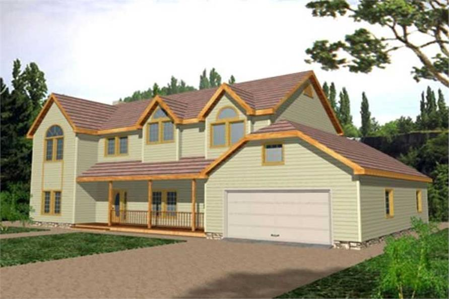 Main image for house plan # 9395