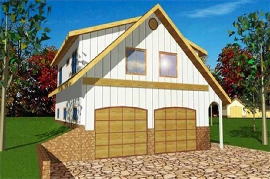 Main image for house plan # 9993