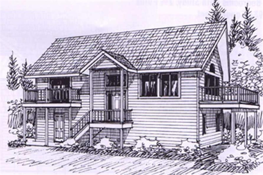 Main image for house plan # 8783