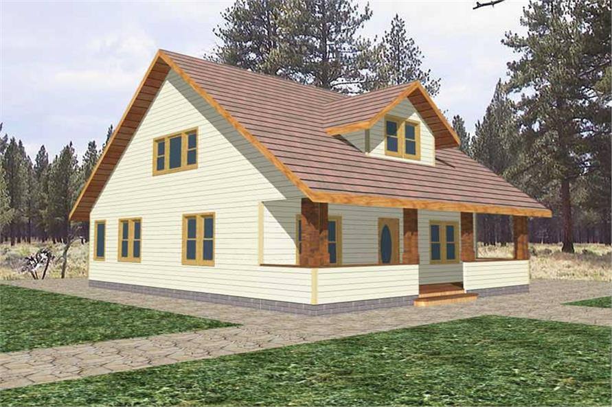 Main image for house plan # 8788