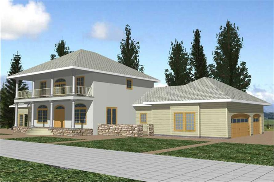 Main image for house plan # 8816