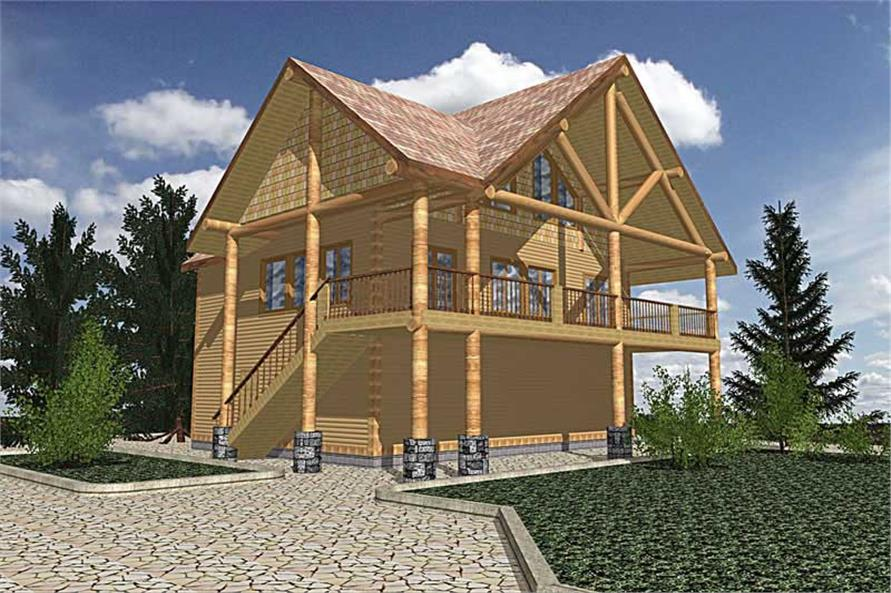 Main image for house plan # 8821