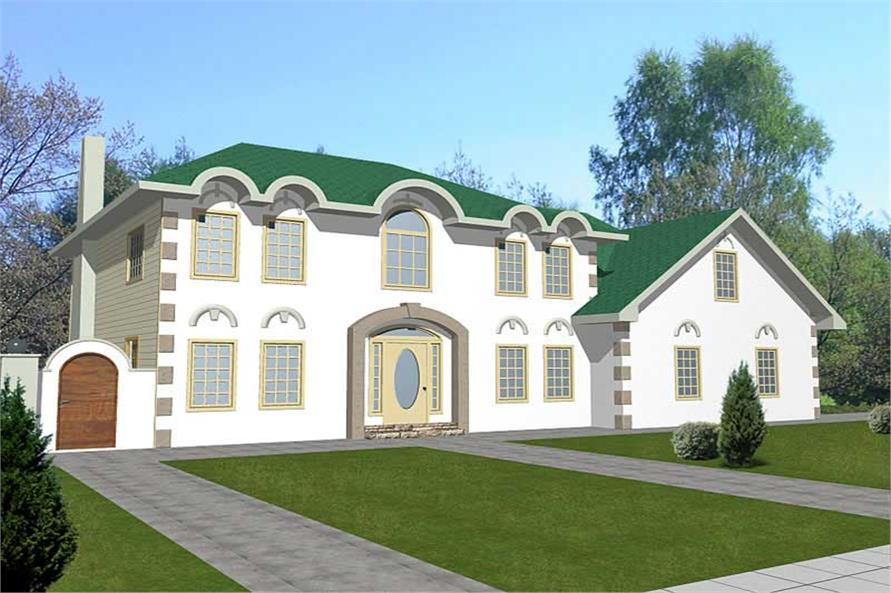 Main image for house plan # 8829