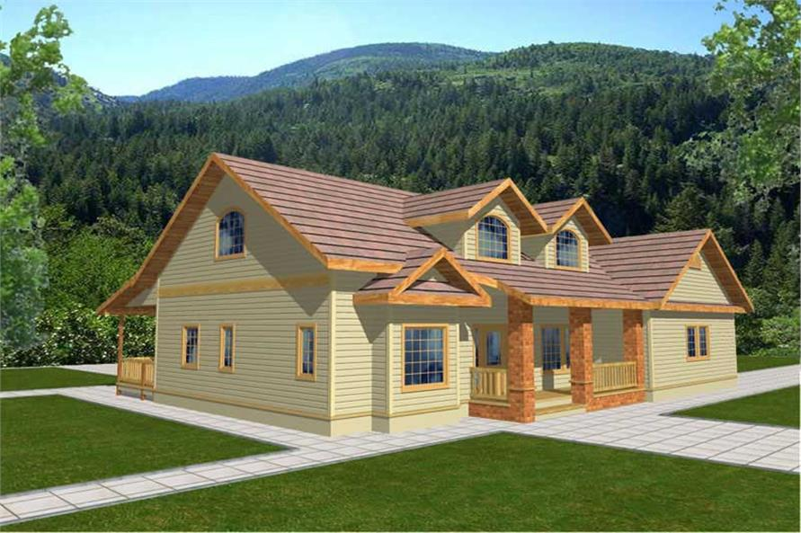 Main image for house plan # 8795
