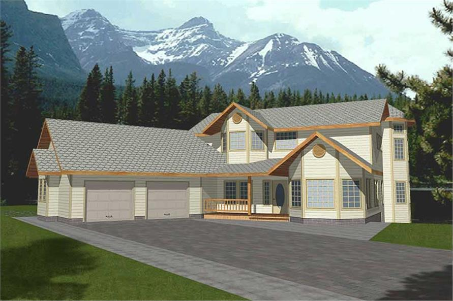 Main image for house plan # 8831